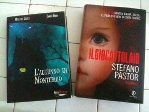 L'autunno di Montebuio di Danilo Arona e Il giocattolaio di Stefano Pastor