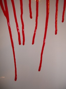 dripping-blood