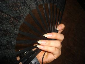 sharp pointed nails